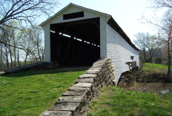 Paris covered bridge