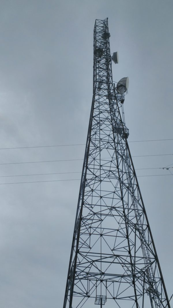 Cell tower near Missouri Route E and Hiway 15